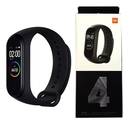 Smartwatch Xiaomi: Mi Band 4 Relógio Inteligente Global - Preto