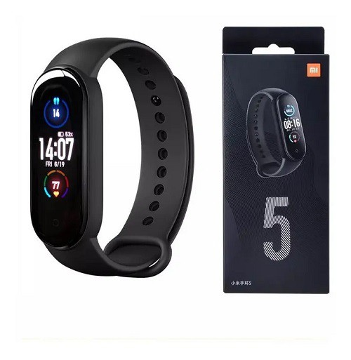 Smartwatch Xiaomi: Mi Band 5  Global - Preto