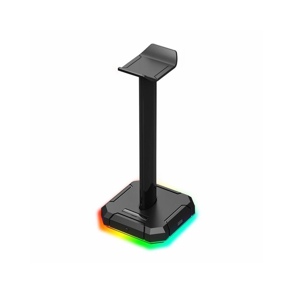 Suporte Headset Scepter Pro REDRAGON RGB HA300 Preto