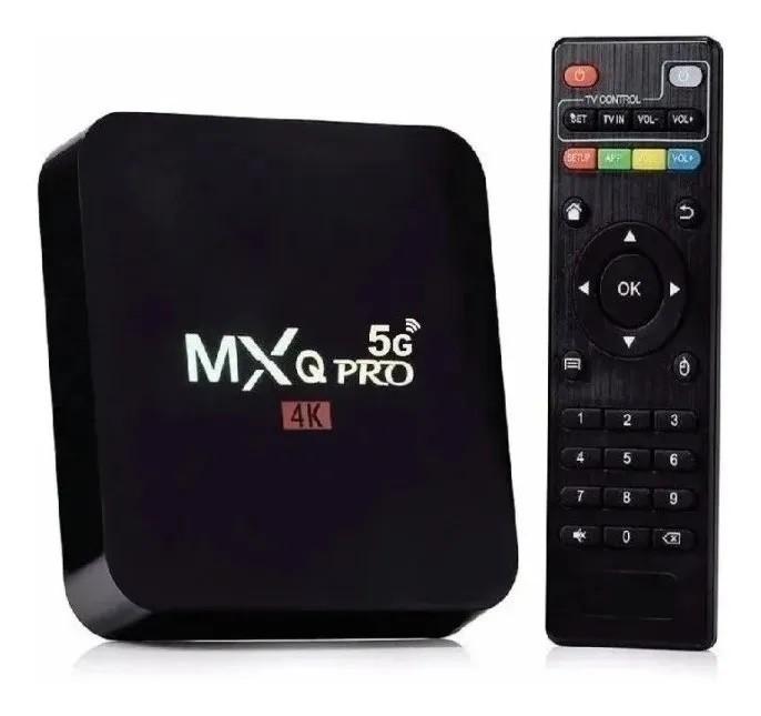TV BOX Smart TV PRO 4GB RAM 32GB Wifi 5G - MXQ