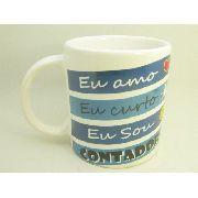 Caneca De Ceramica Contador - 300ml - 7973