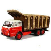 Miniatura Caminhão FNM 180 canavieiro - Deagostini - escala 1/43- 10679