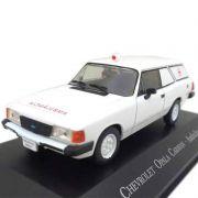 Miniatura Caravan Ambulancia-veículos De Serviço-1/43 10087