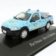 Miniatura Fiat Strada Água a Domicílio - veículo de Serviço - escala 1/43 - 10718