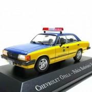 Miniatura GM Opala 1988 Policia Rodoviária Federal - veículo de Serviço - escala 1/43 - 10089