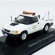 Miniatura GM S10 Socorro Guincho - veículo de Serviço - escala 1/43 - 10686