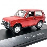 Miniatura Lada Niva 1991 - escala 1/43 - Deagostini - 9358