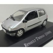 Miniatura Renault Twingo 2000 - Deagostini - escala 1/43 - 9666
