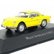 Miniatura Willys Interlagos 1963 - escala 1/43 - Deagostini - 9589