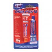 Adesivo Epoxi OrbiEpoxi 10min A+B 40grs - OrbiQuimica