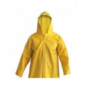 Blusão PVC Amarelo Tamanho GG - Brascamp