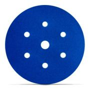 Disco Hookit Blue 321U 6Pol 152mm 7 Furos Grão 120 - 3M