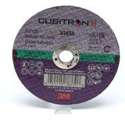 Disco Corte 3Pol Cubitron II 76mm x 1mm x 9.5mm - 3M
