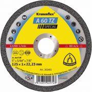 Disco Corte 4.1/2Pol 115mm x 1mm x 22.2mm A60TZ - Klingspor