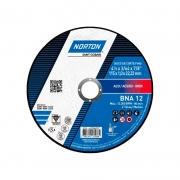 Disco Corte 4.1/2Pol 115mm x 1mm x 22.2mm BNA 12  - Norton