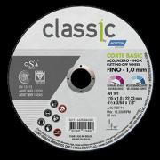 Disco Corte 4.1/2Pol 115mm x 1mm x 22.2mm Classic Basic - Norton