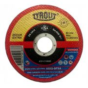 Disco Corte 4.1/2Pol 115mm x 1mm x 22.2mm Secur - Tyrolit