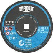 Disco Corte 5Pol 125mm x 1mm x 22.2mm Premium - Tyrolit