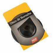 Disco de Borracha Flexível 4.1/2Pol 115mm - Max