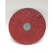 Disco de Lixa 283C 178mm 7 Pol Grão 100 - 3M