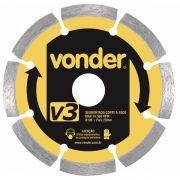 Disco Diamantado 110mm V3 Segmentado - Vonder