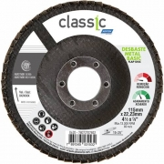 Disco Flap 4.1/2Pol 115mmX22.23mm Classic Basic Grão 80 - Norton