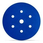 Disco Hookit Blue 338U 6Pol 152mm 7 Furos Grão 220 - 3M