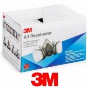 Kit Respirador Serie 6200 Cartucho 6001 - 3M