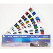Leque de Cores  - Catálogo de Tintas 2000 a 2008 - PPG