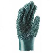 Luva PVC C/Forro Granulada 26cm
