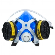 Máscara 2402 Com 2 Filtros Para Gases Ácidos e Orgânicos - Alltec