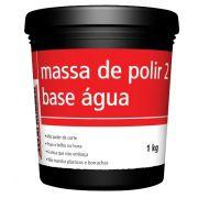 Massa de Polir Base Dágua Nº02 1kg - Maxi Rubber