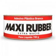 Massa Plástica Branca 700g - Maxi Rubber