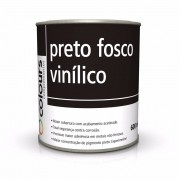 Preto Fosco Vinilico 600ml - Maxi Rubber