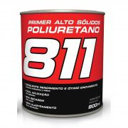 Primer Alto Solidos PU Poliuretano Cinza 811 8x1x1 800ml - Maxi Rubber