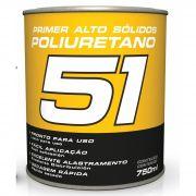 Primer PU Poliuretano HS Cinza 5x1 750ml - Maxi Rubber