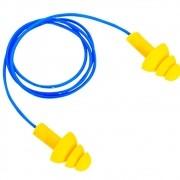 Protetor Auricular Plug Copolimero 17db - Veaj Plast