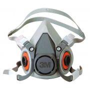 Respirador Reutilizável Semifacial Série 6200 Tamanho M - 3M