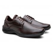 Sapato Social Marrom 557C9 N°45 - Mariano