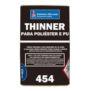 Thinner PU 0454 18 Litros - Lazzuril