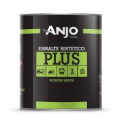 Tinta Esmalte Sintético Plus 900ml Branco Puro Brilhante - Anjo Tintas