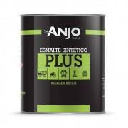 Tinta Esmalte Sintético Plus 900ml Preto Fosco - Anjo Tintas