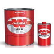 Verniz PU4100 Bi-Componente Com Catalisador 750ml - Wanda