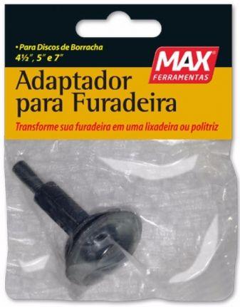 Adaptador de Disco de Borracha Para Furadeira - Max