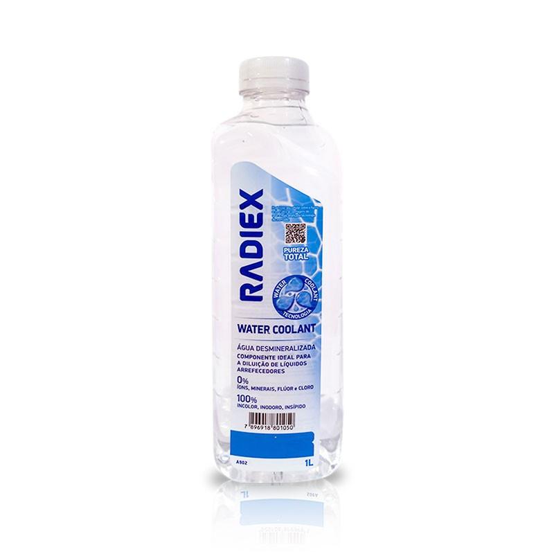 Água Desmineralizada Water Coolant A-902 1 Litro - Radiex