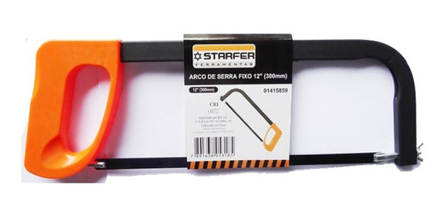 """Arco de Serra Fixo Tubular 12"""" - Starfer"""