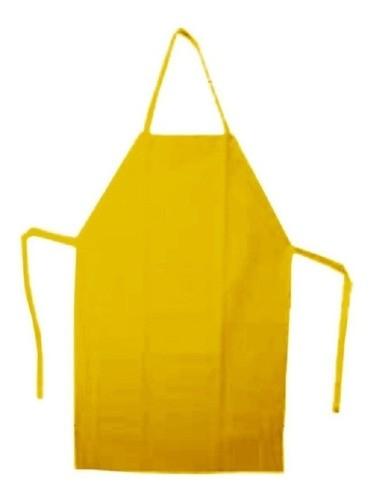 Avental PVC Amarelo 1,20 X 0,70 metros - Plastcor