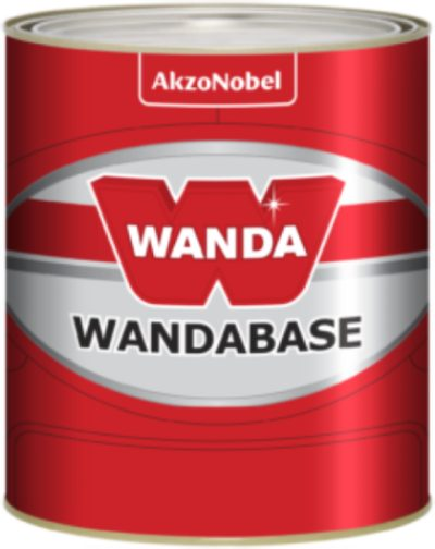 Base 2400 Amarelo Transparente Poliéster 900ml - Wanda