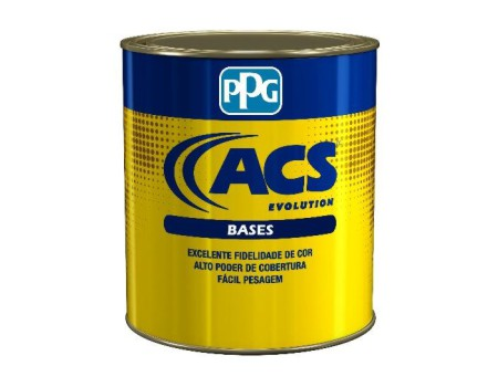 Base CL-502 Preto Pleno 1 Litro ACS Evolution - PPG