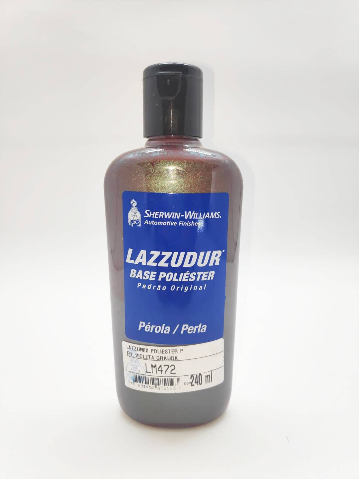 Base LM-472 Perola Violeta Grauda 240ml - Lazzuril